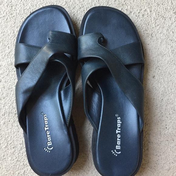 Wear Ever Dark Navy Blue Sandals   Poshmark
